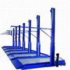 2 Post simple elevated car parking lift , Mechanical 2 post car parking lift , 2 post hydraulic garage lift for sale