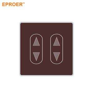 12V 220V 500W european dimmable smart dimmer light control wall touch switch for LED lights