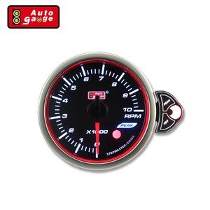 52 60mm best Electrical Smoked lens Tachometer