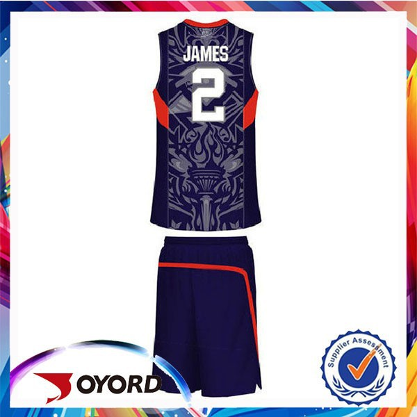 design custom 2015 factory supply oem sportswear college basketball jerseys