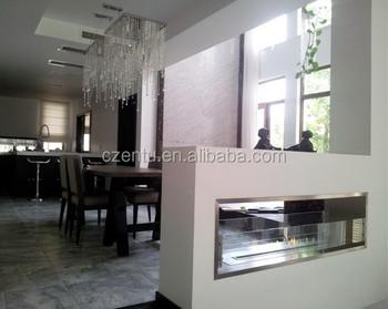 Good Price Modern Fireplace Design Indoor Stainless Steel