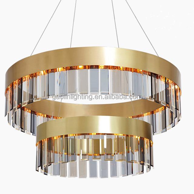 Fashion Modern Crystal Gl Chandelier Lightings