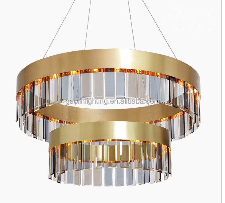 modern style chandlier for brass and glass material chandelier light