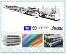 JWELL - fire proof 100% virgin GE SABIC 6mm 8mm honeycomb cardboard sheet for bus station production line