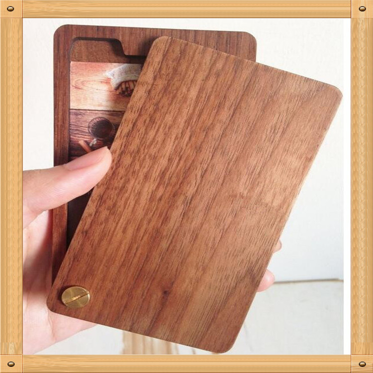New design promotion gift Wooden Business Card Case