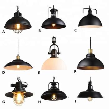 Lampe Suspendue En Verre Pour Restaurant Lustres Cuisine Loft