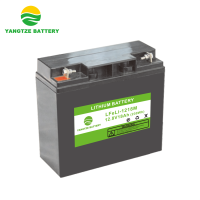 Deep Cycle High Quality Rechargeable Lifepo4 12V 18AH Lithium Ion Battery for solar power, yacht, RV