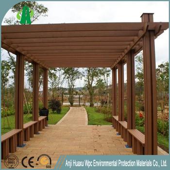 20178236 moderno impermeable al aire libre de madera compuesta de pergola buy madera compuesta - Pergola impermeable ...
