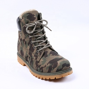 Camouflage men suede mens army boot shoes for men