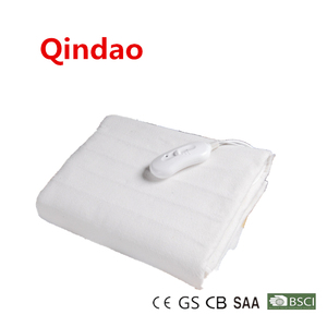 CB CE GS ROHS Washable Fitted Heated Mattress Pad