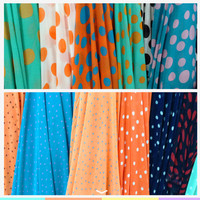 2014 new digital women dress 100% poly chiffon printed fabric for women's clouth