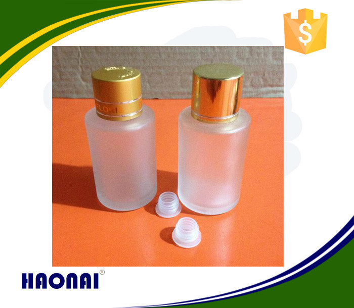 Haonai glassware bottle,perfume empty glass bottle