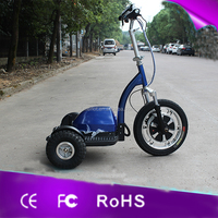 500w Power 48V 500W lithium battery 30KM/H 3 wheel folding powerful electric mobility scooter