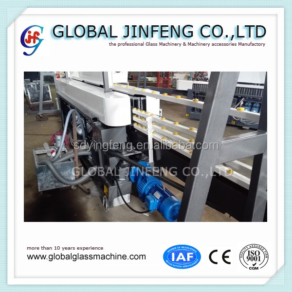 JFE-10325 10 motors hot sale glass straight line edge grinding and polishing machine for building glass