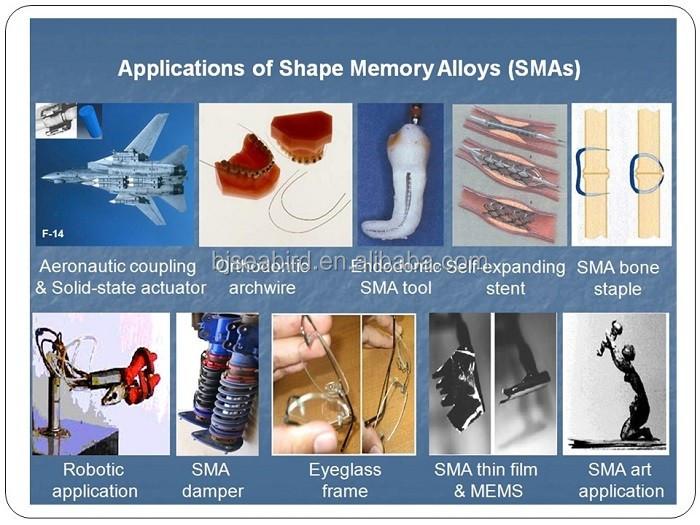 Astmf2063 Nickel Titanium Nitinol Shape Memory Alloy Sheet ...