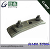 Hot Dip Galvanized Curved Cable Suspension Clamp