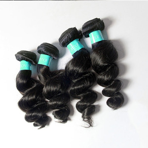 wholesale price double layers 100% real natural loose wave dream virgin hair