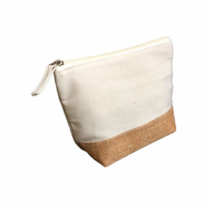 Custom Made Brand Low Price Canvas Standard Size Durable Cosmetic Pouch