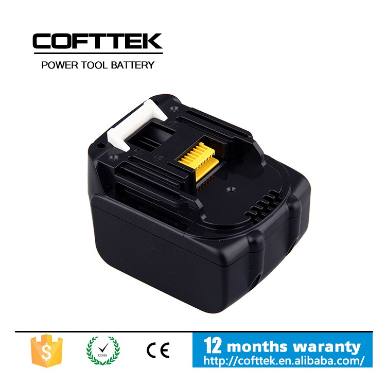 14.4V MAKITA 3000mAh Li-ion power tool battery three times than common cordless tool battery Makita_BL1430 battery