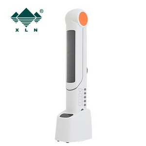 Solar Power/Hand Crank/Adapter LED Desk Light Charger for Mobile Phone with FM Radio Blink Siren FunctionTable Lamp