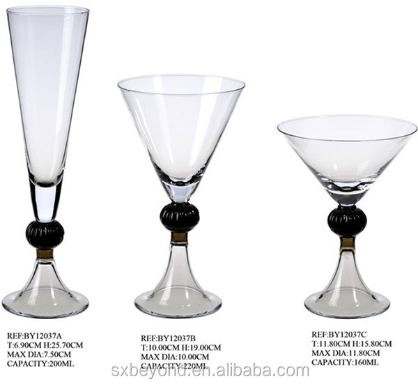 martini glass with ball stem martini glass with ball stem suppliers and at alibabacom - Stemless Martini Glasses