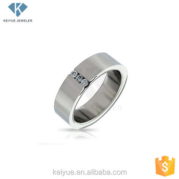 45764aff5a Simple 925 italian silver couple rings design jewelry for men with zircon