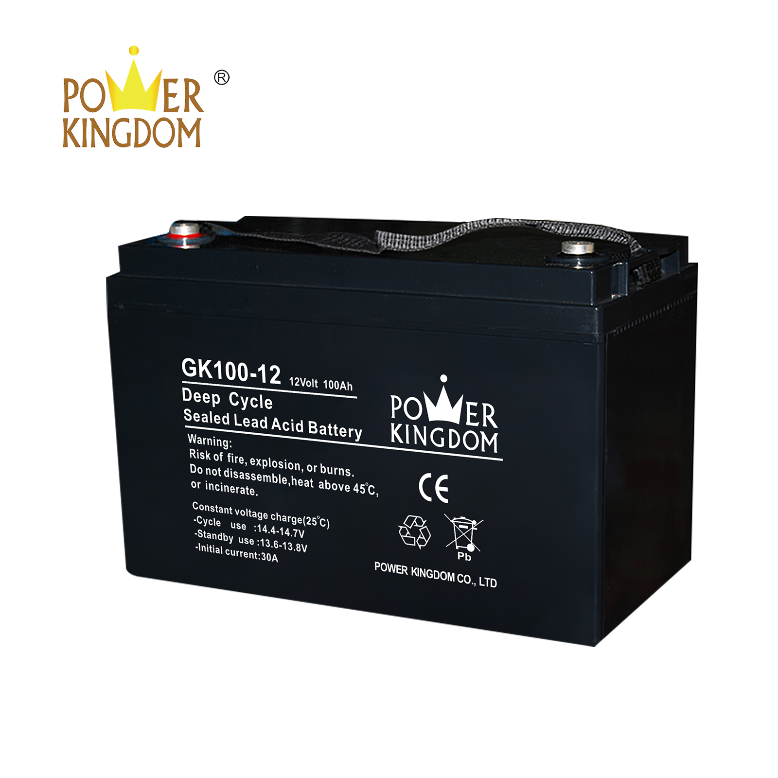 Power Kingdom long standby life ups battery pack factory solor system-2