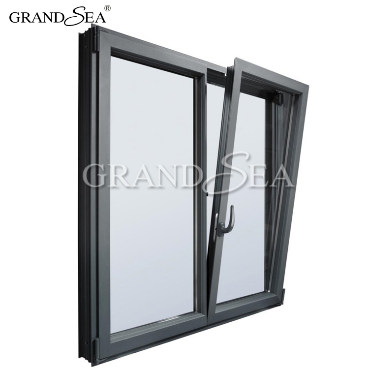 Retractable high quality hardware tilt and turn window