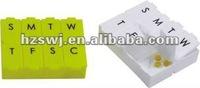 7days plastic box/pill box/promotional pocket pill box