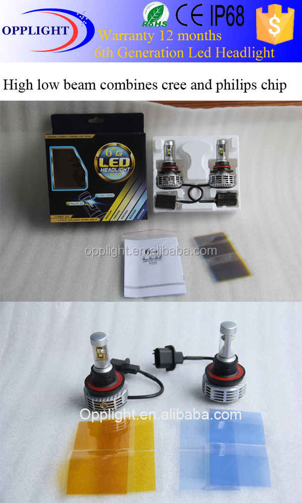 H4 Led Headlight 5000k 8000k Auto Led Headlight Kit H4 Bulb Led ...