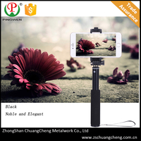 Wholesale bluetooth unreal selfie stick with zoom function,telescopic foldable monopod