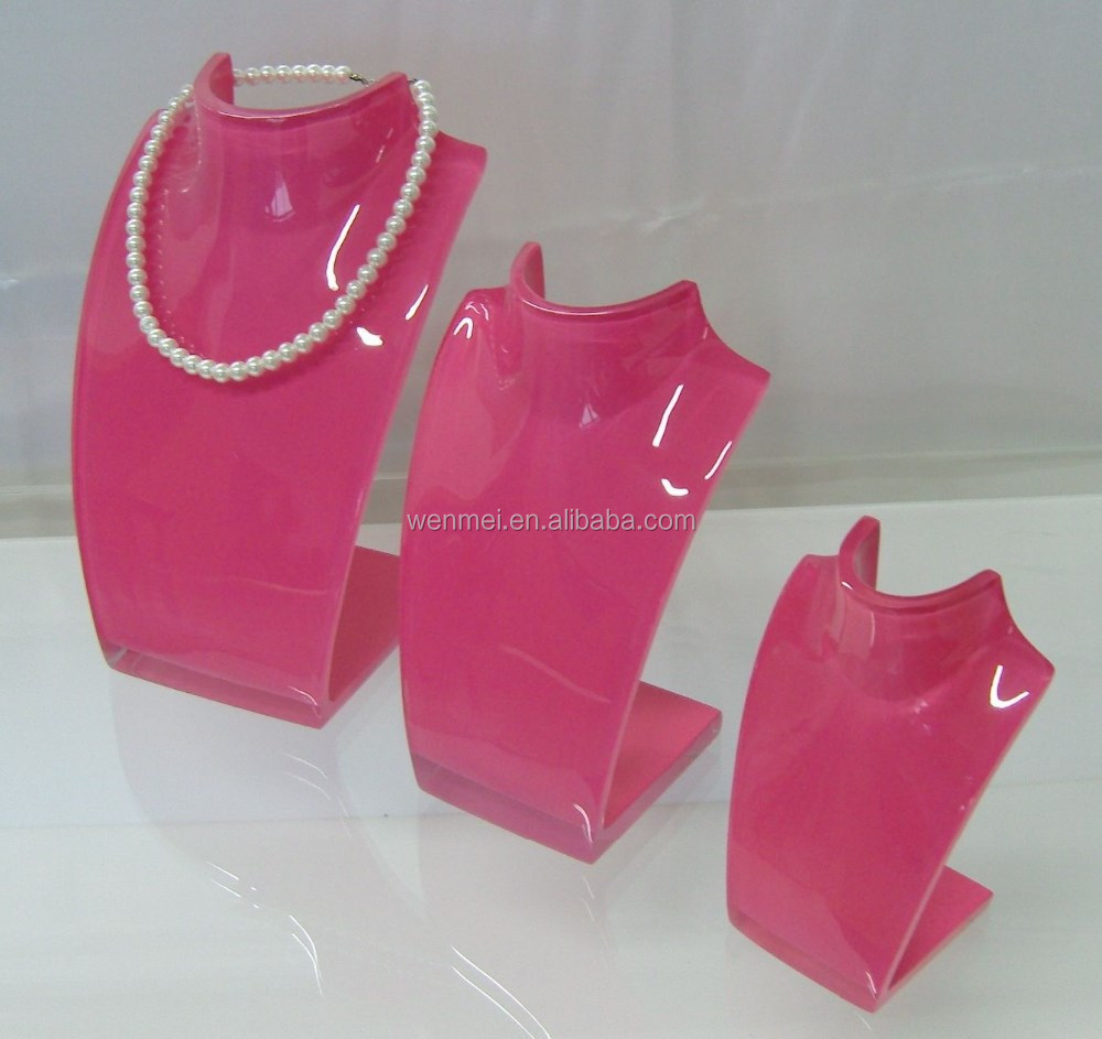 New design acrylic body necklacedisplay, jewelry display