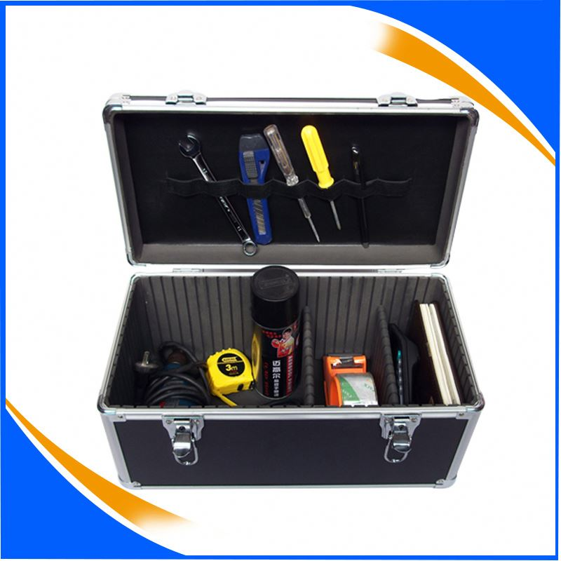New arrival aluminum rifle gun case with handle for high quality aluminum cases