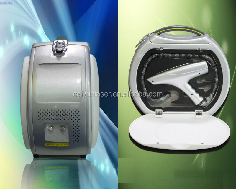 Q Switched Nd Yag Laser 1064nm and 532nm For Tattoo Removal