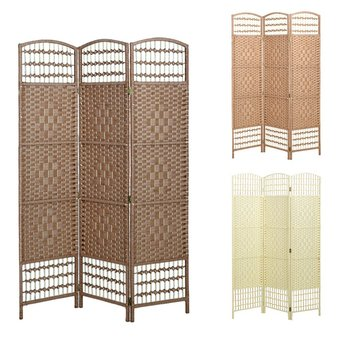 Folding Screen Shoji Selling Cheap Seagrass Shabby Chic Room Divider
