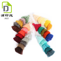 Cheap custom beautiful colored cotton tassels for tassel garland