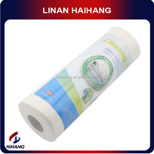 Multipurpose white plain pattern bambooie cleaning cloth