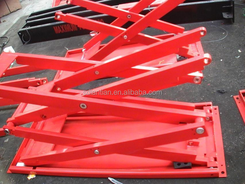 Alibaba cina forbice usato idraulica scissor lift ponte for Ponte per auto usato