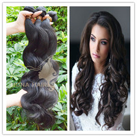 China suplier 100% virgin russian hair remy italian body wave hair