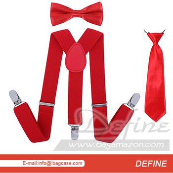 c09a5247fe6 Kids Suspender Necktie Sets Bowtie Matching Set Private Label Factory