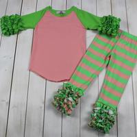 Children clothing set wholesale kids sets children cute girl boutique baby girl clothes sets for fall