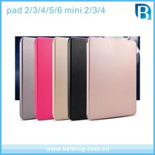 Blank colorful case for ipad multi color Leather Flip Mobile Phone Cover Case for Ipad