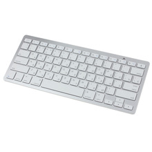 Del Slim Mini Bluetooth Wireless Russian Keyboard For Win8 XP IOS Android ipad Universal Use for Russian Device Feb29