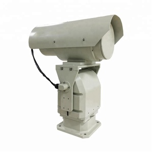 Police night vision monitoring thermal security camera