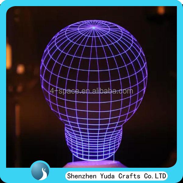 Die Lampenaus Plexiglas sind ein Design von Cheha Studio