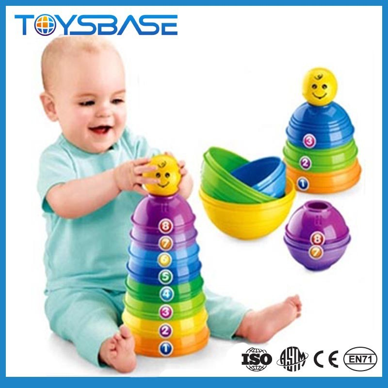 Baby's First Blocks with stack and roll cups & brilliant basics rock a stack games stack & roll cups