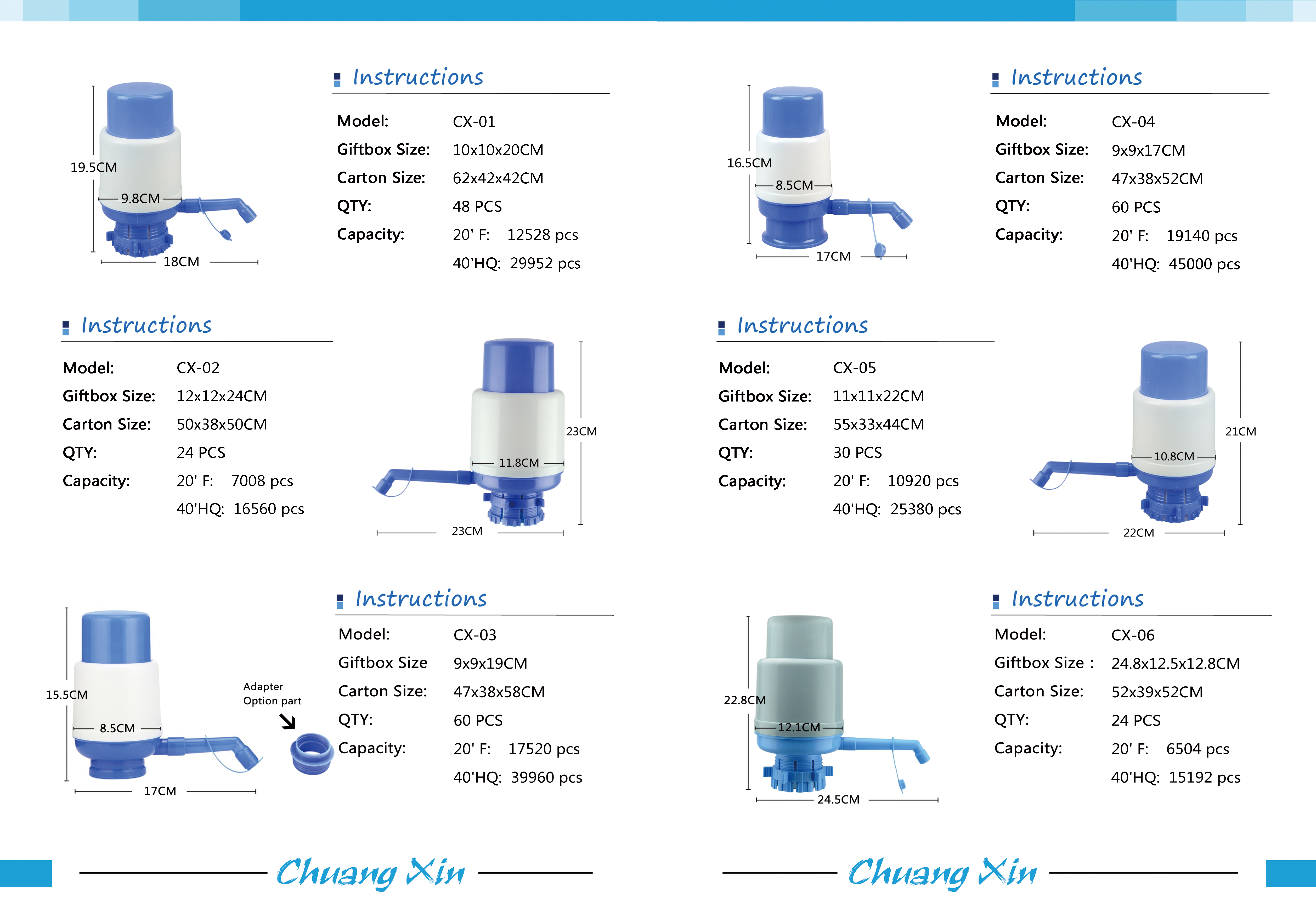 China manufacturer 5 gallon irrigation manual water bottle pump for drinking bottled water