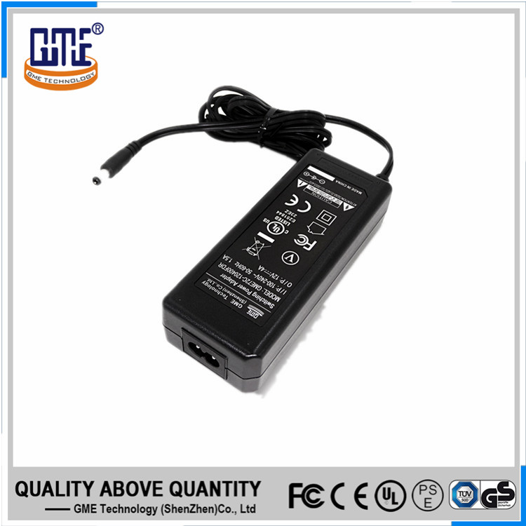 UL FCC CE GS RCM approved international 12v 5a desktop laptop ac power adapter