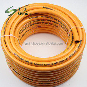 Weifang pvc high pressure flexible air lpg gas hose pipe
