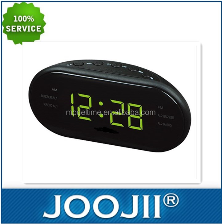 Big Screen Automatic Channel Selection Alarm Clock Radio